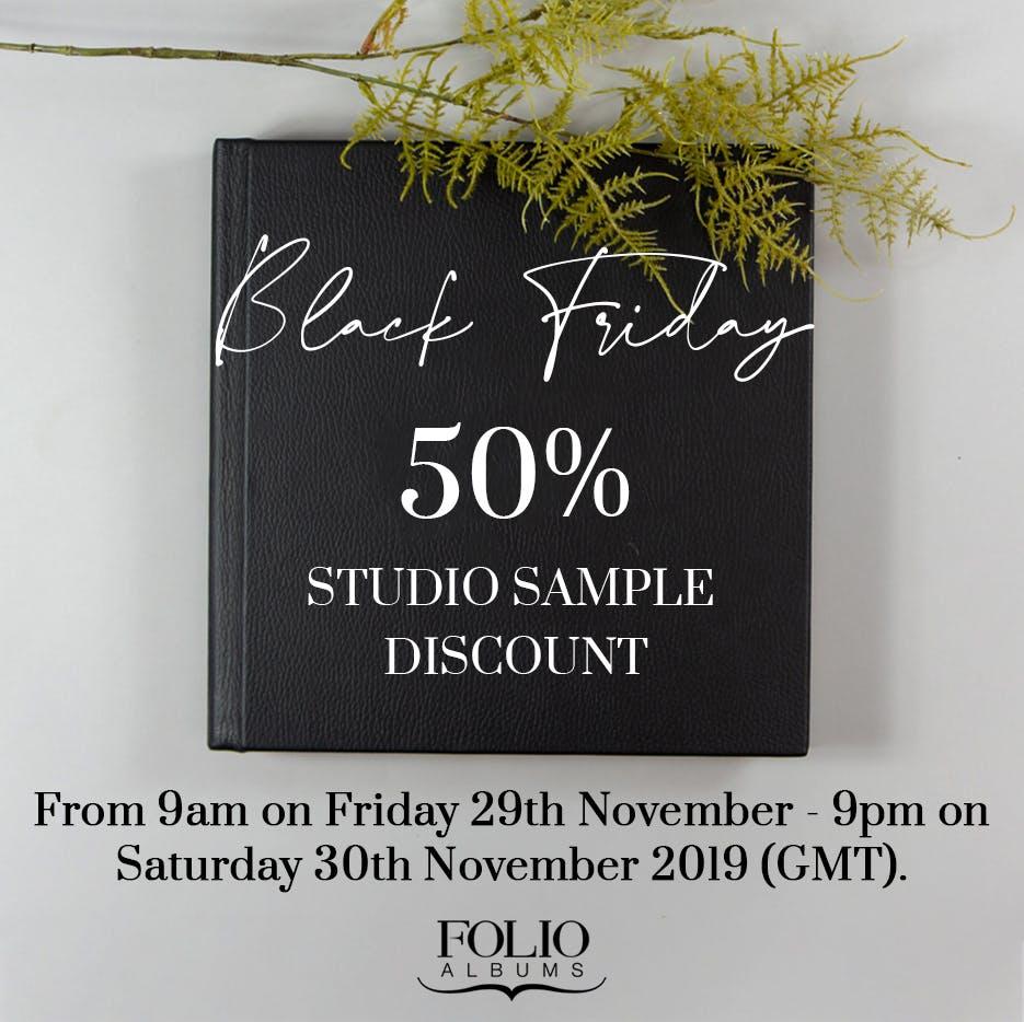 Folio Albums Black Friday 2019 deals for photographers