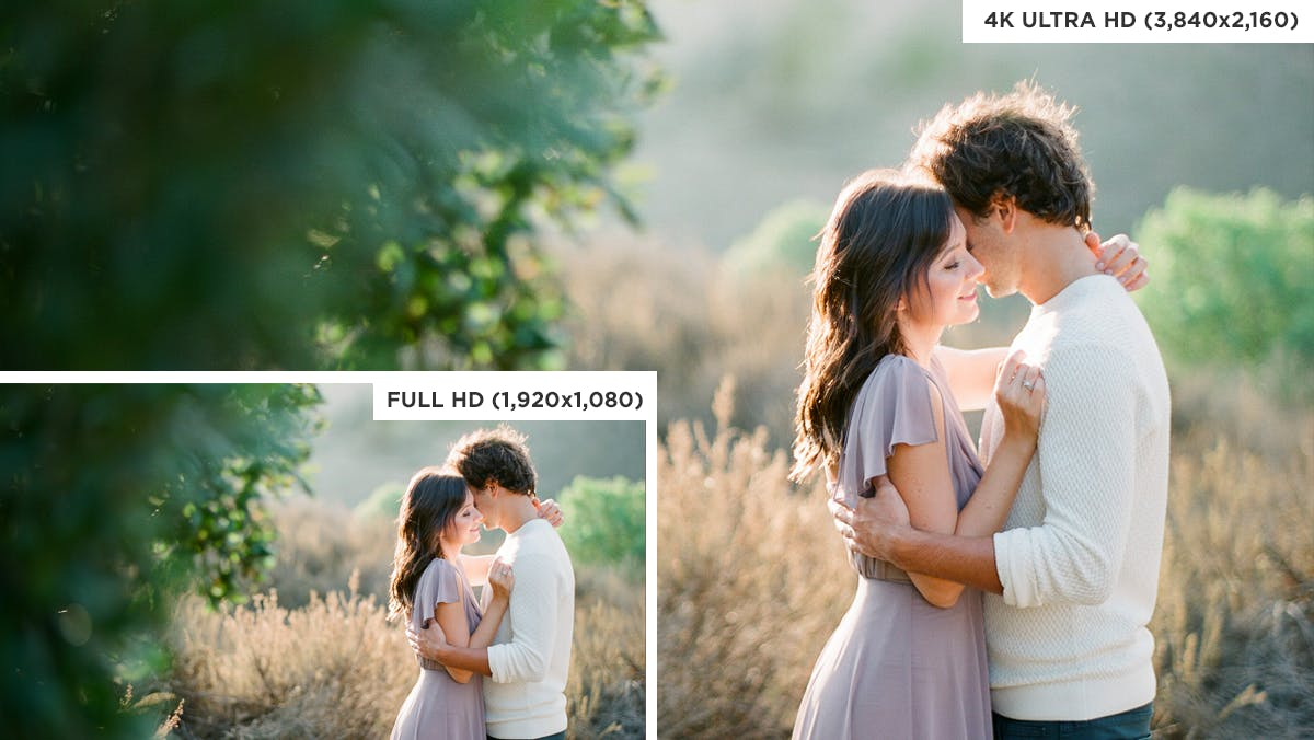Slideshow software for wedding photographers now available in 4K Ultra HD