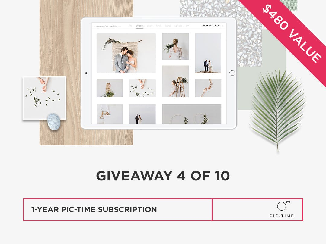 Win an online proofing and gallery system from Pic-Time