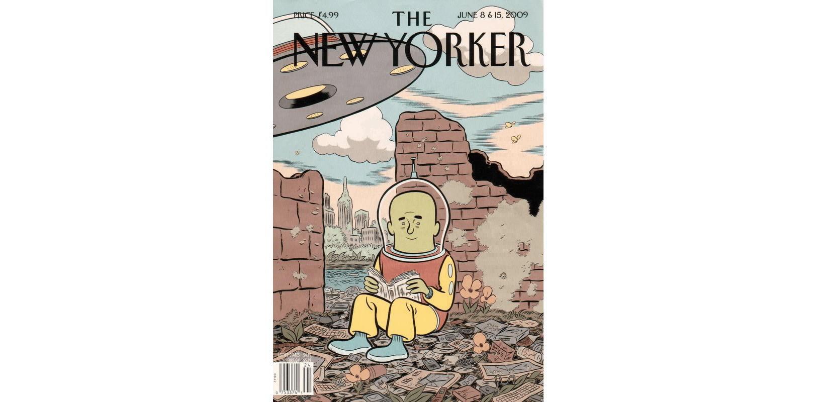 The cover of The New Yorker, June 2009