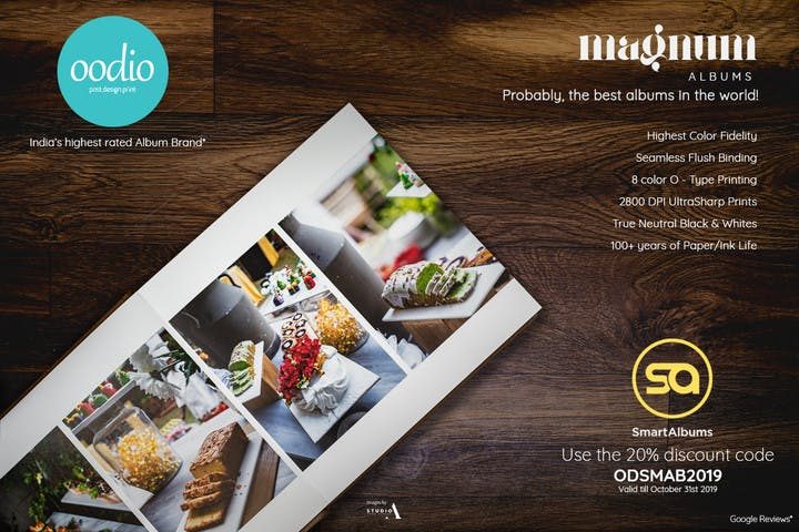20% off photo albums with Oodio and SmartAlbums 2019