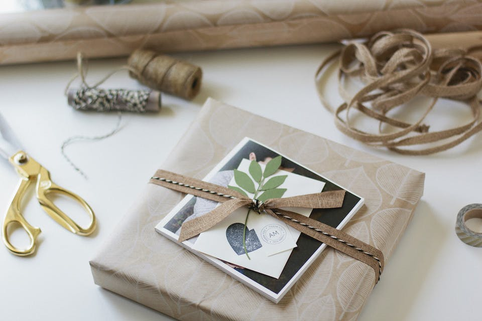 Wrapping your photo album to impress your photography clients