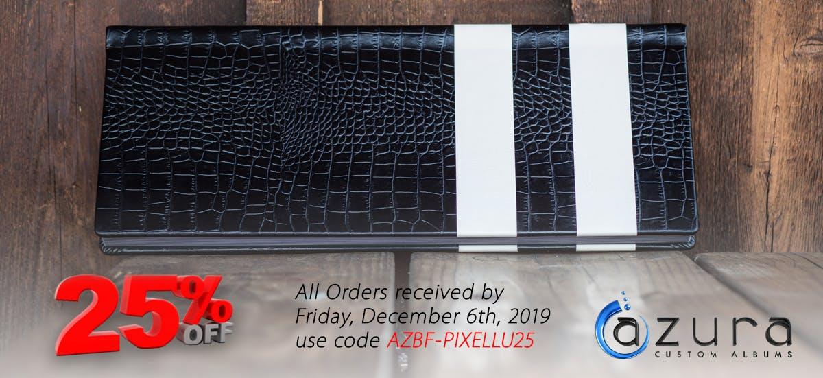 Azura Albums Black Friday 2019 discount on photo albums