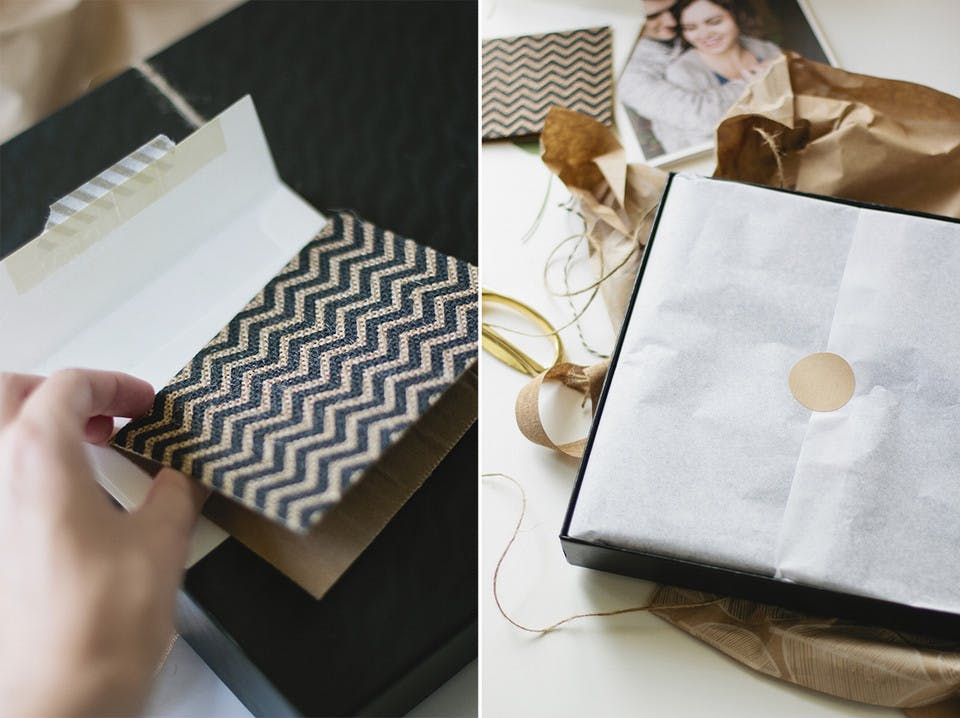 Wrapping a photo album to impress your photography clients