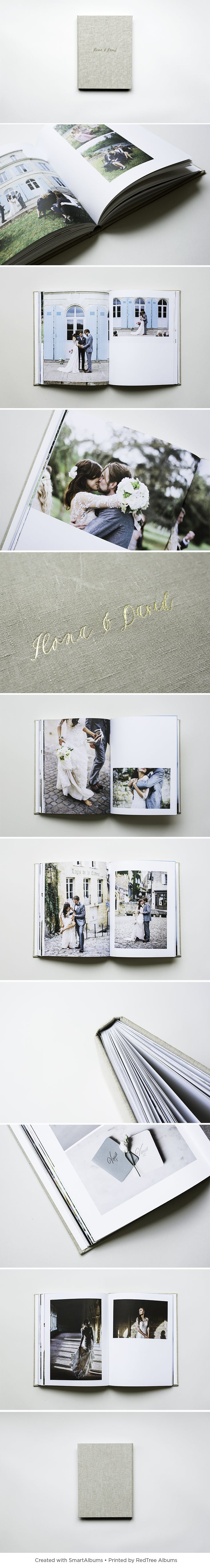 RedTree Albums hardcover book