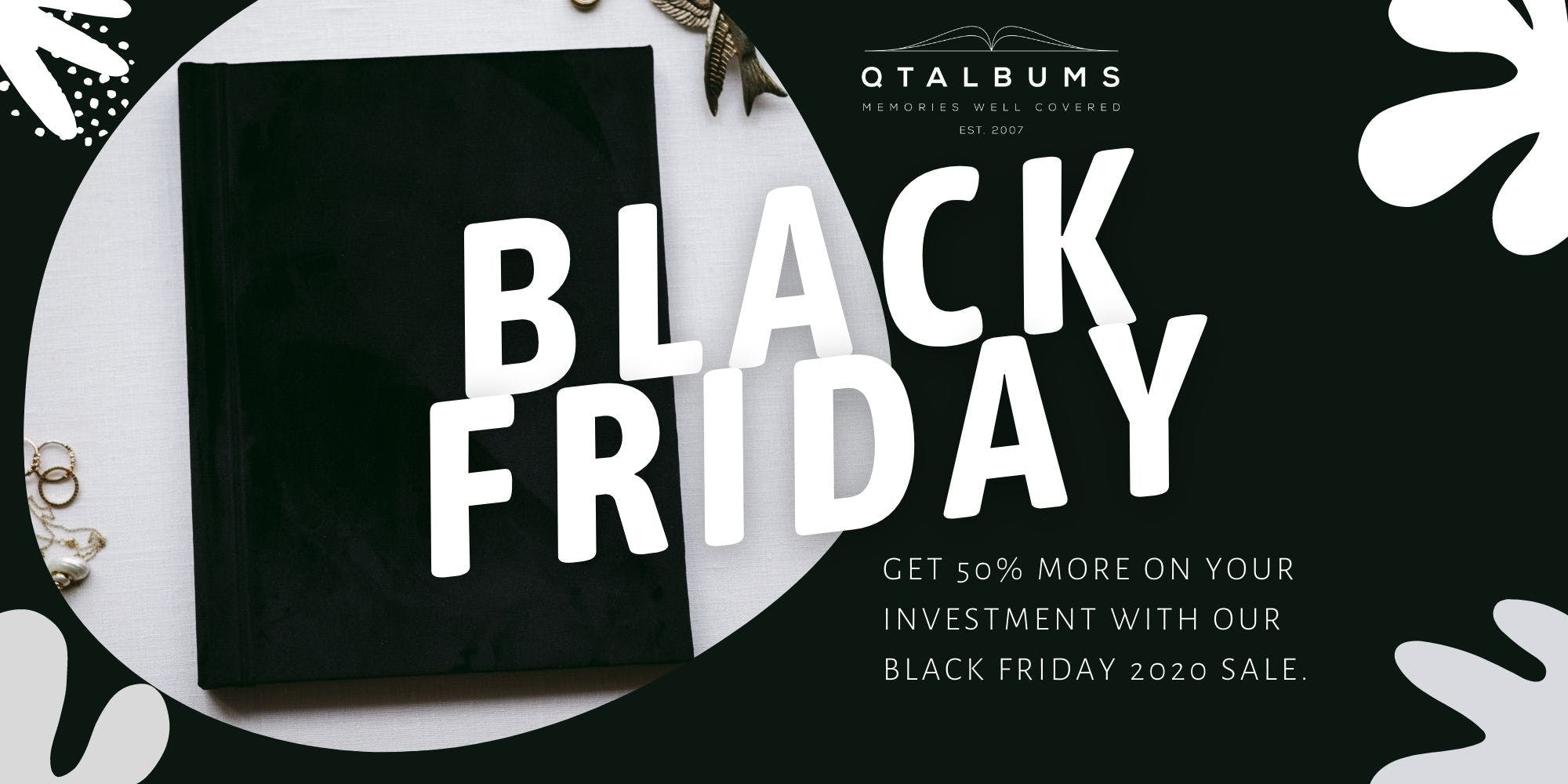 Black Friday deals for photographers photo album discount code