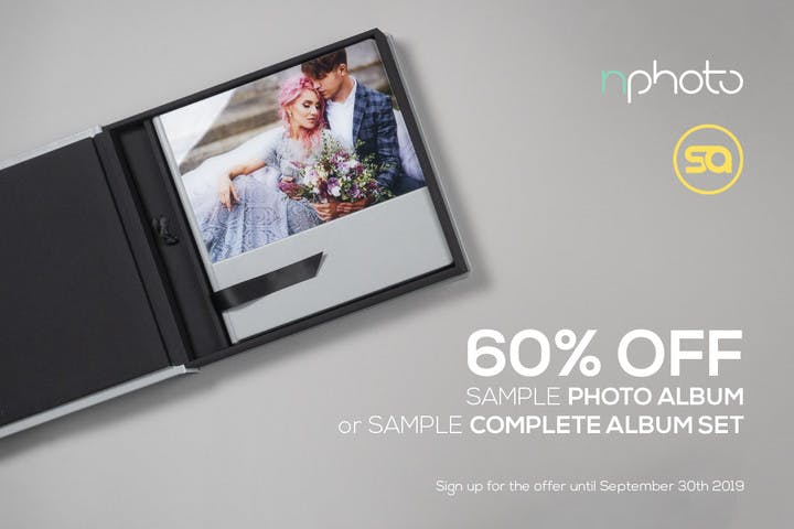 60% off a sample photo album with nPhoto and SmartAlbums 2019