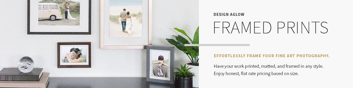Black Friday discount code on framed prints from Design Aglow