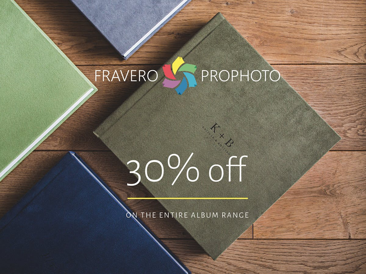 Fravero Prophoto Black Friday deal on photo albums