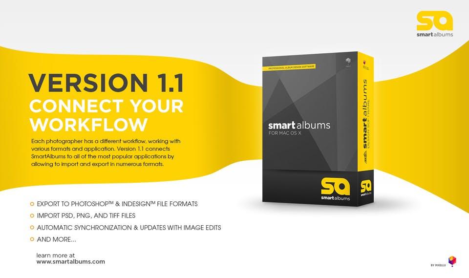 SmartAlbums version 1.1 release