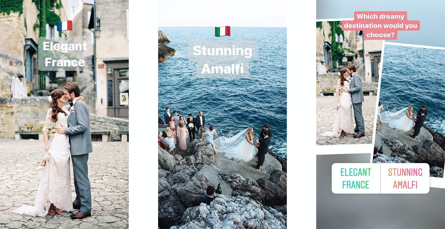 Use Poll Stickers in Instagram Stories to engage your audience and grow your photography business