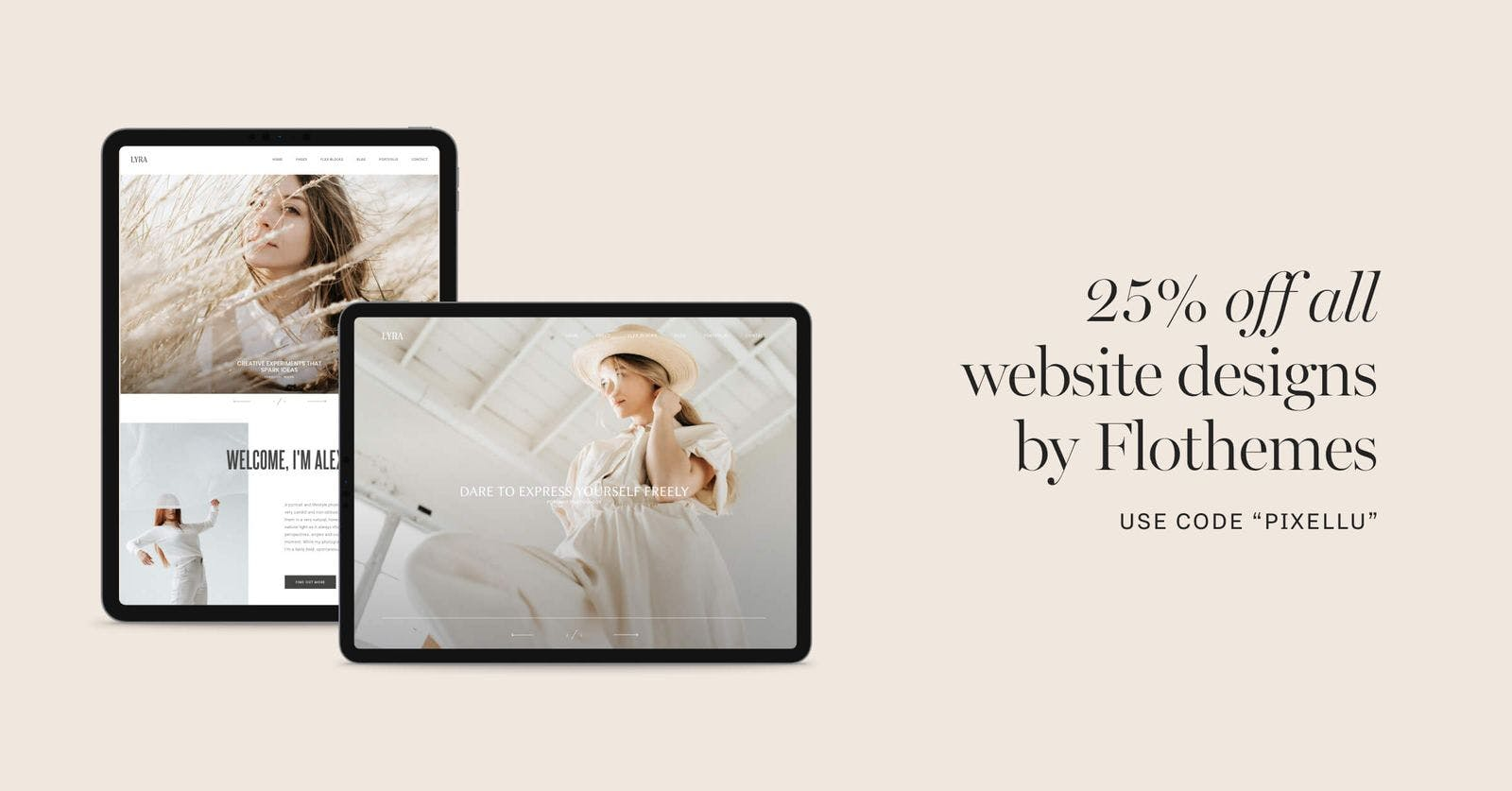 Flothemes discount code for photographers