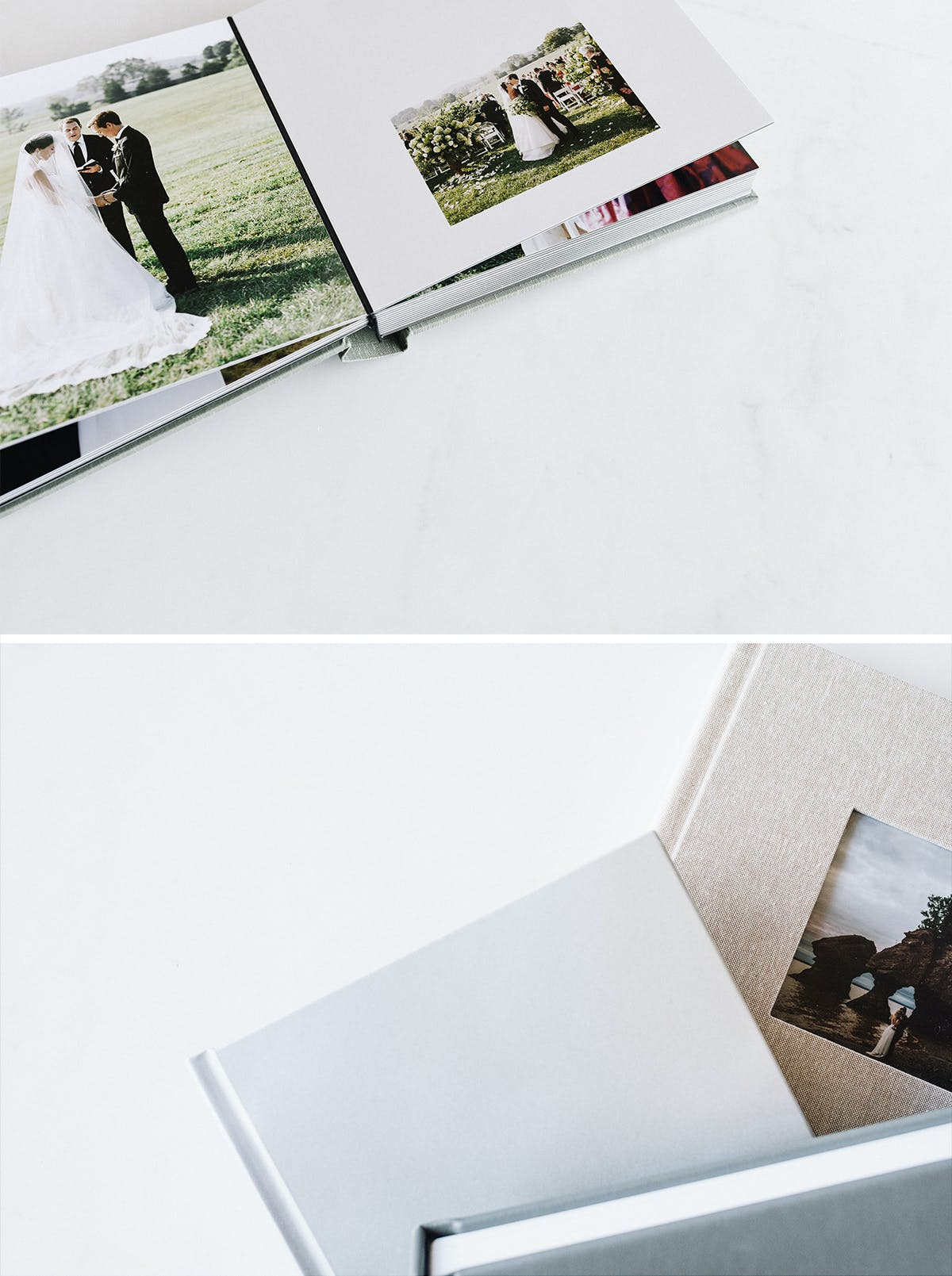 Sample photo album to increase album and print sales as a photography business