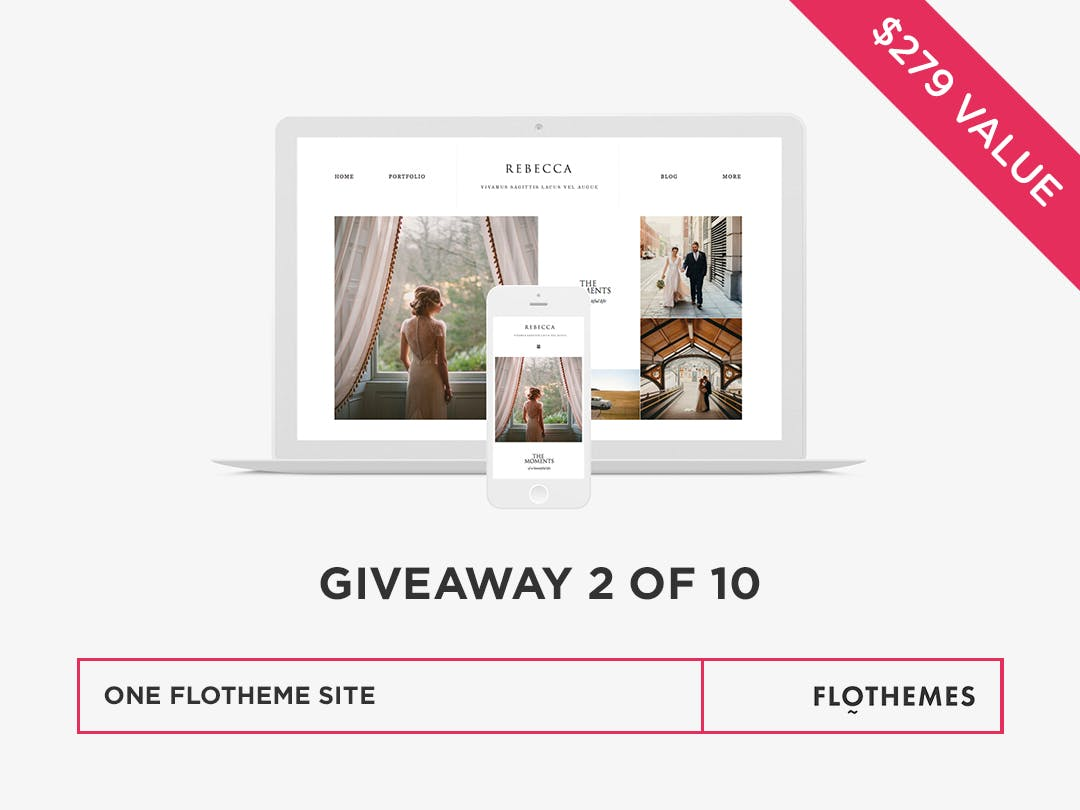 Win a Flothemes WordPress site for photographers