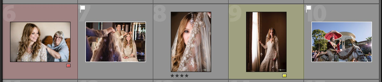 Use an efficient culling method when designing photo slideshows
