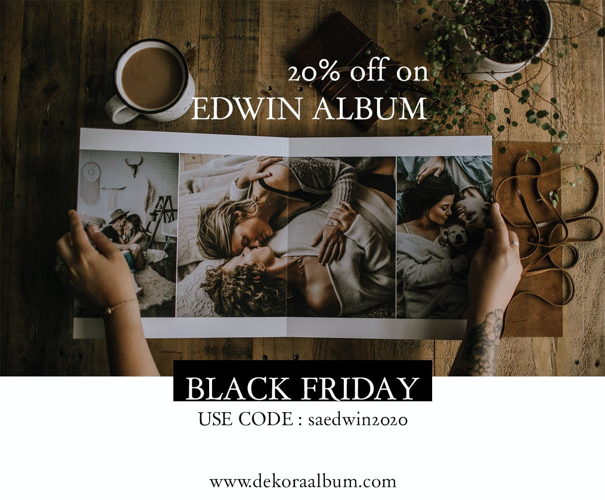 Black Friday Deals for photorgaphers photo album discount code