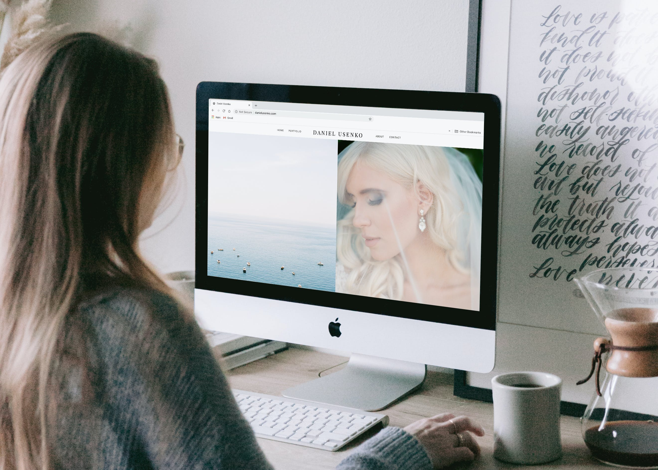 Design your photography website to book more clients as a photgrapher