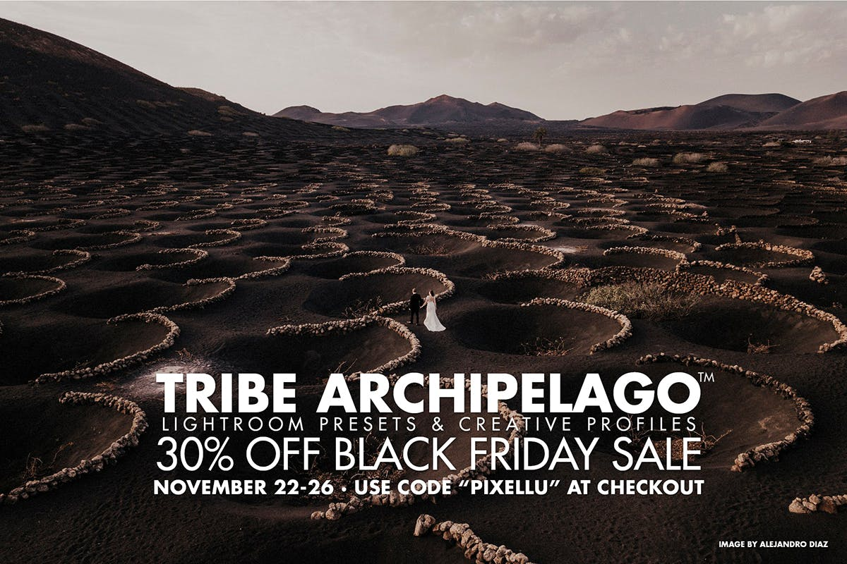 Black Friday discount on Lightroom presets from Tribe Archipelago