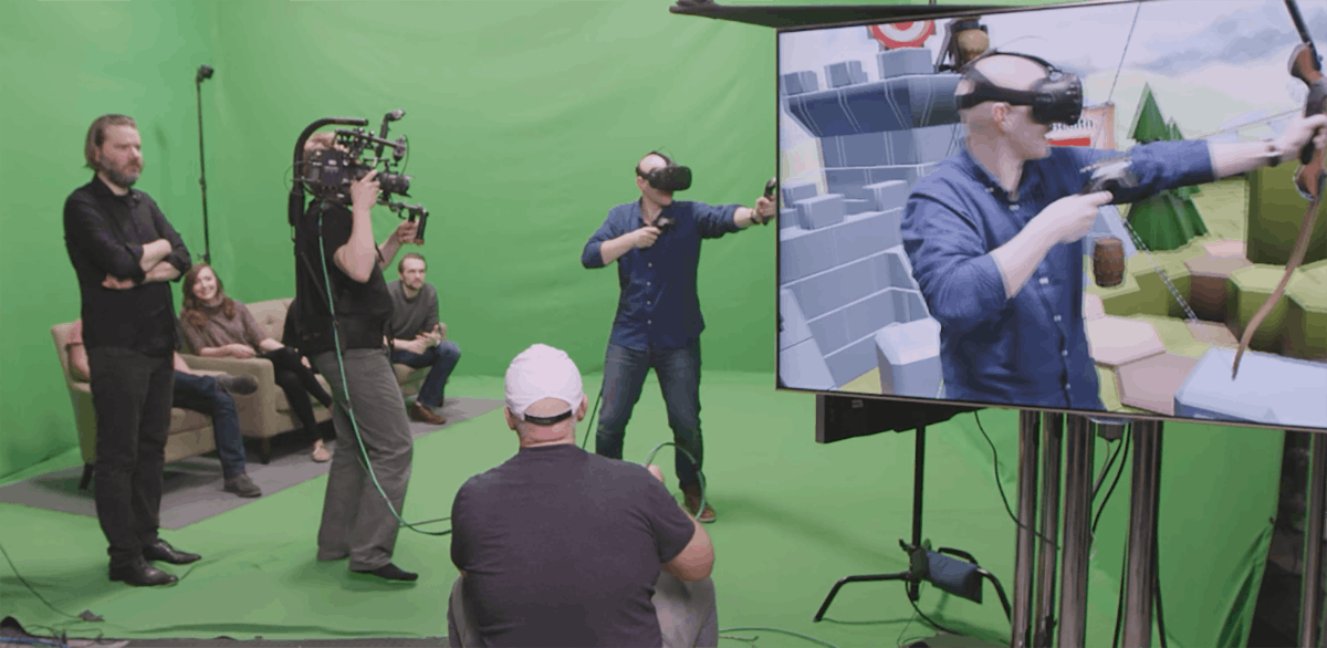Testing the Valve HTC Vive virtual reality headset