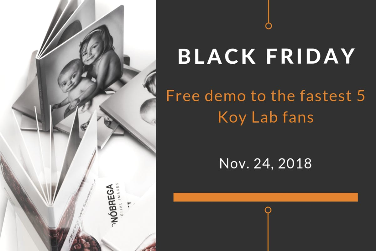 Free sample photo albums from Koy Lab