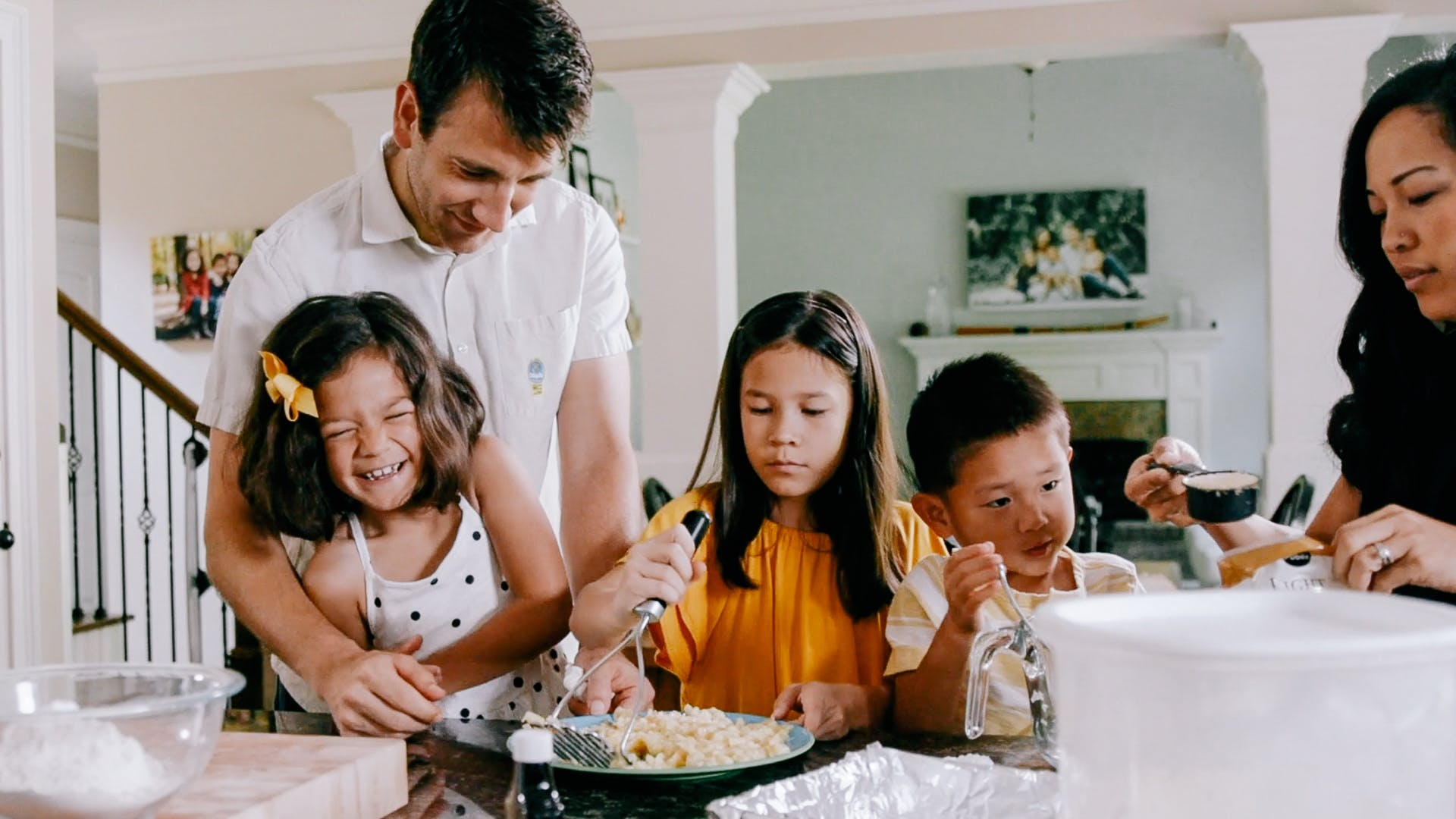 Professional portrait and wedding photographers Phillip and Eileen Blume creating work-life balance at home with their children