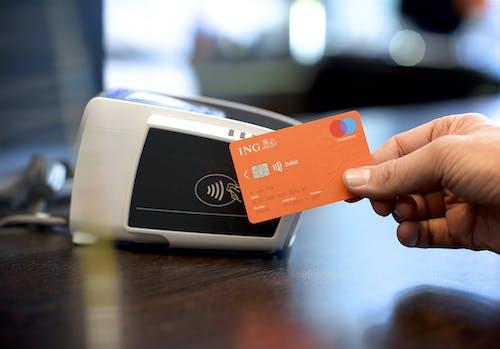 Contactloze betaling met een ING-bankpas