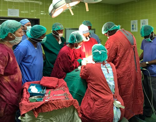 Operatiekamer van een ziekenhuis
