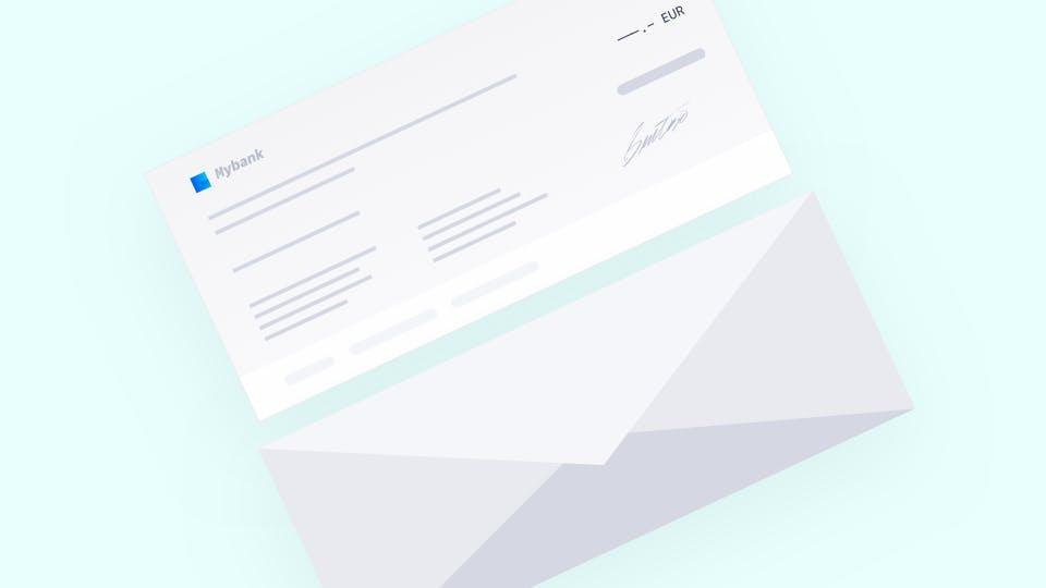 banque en ligne cheque
