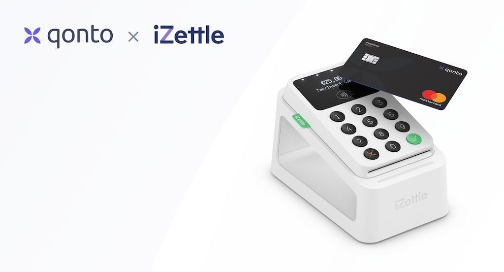 Qonto y iZettle TPV terminal de pago datáfono virtual