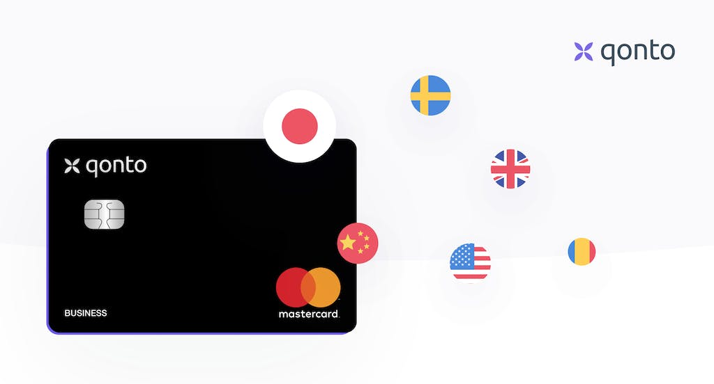 payment in foreign currencies qonto cards