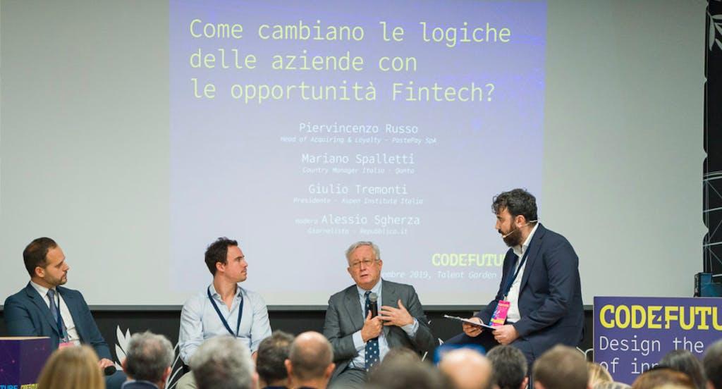 Fintech e logiche aziendali: Qonto al round table di Code4Future con l'ex ministro Tremonti