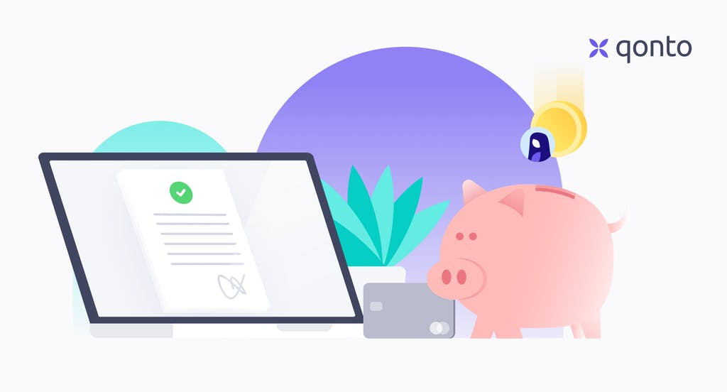 online capital deposit with qonto