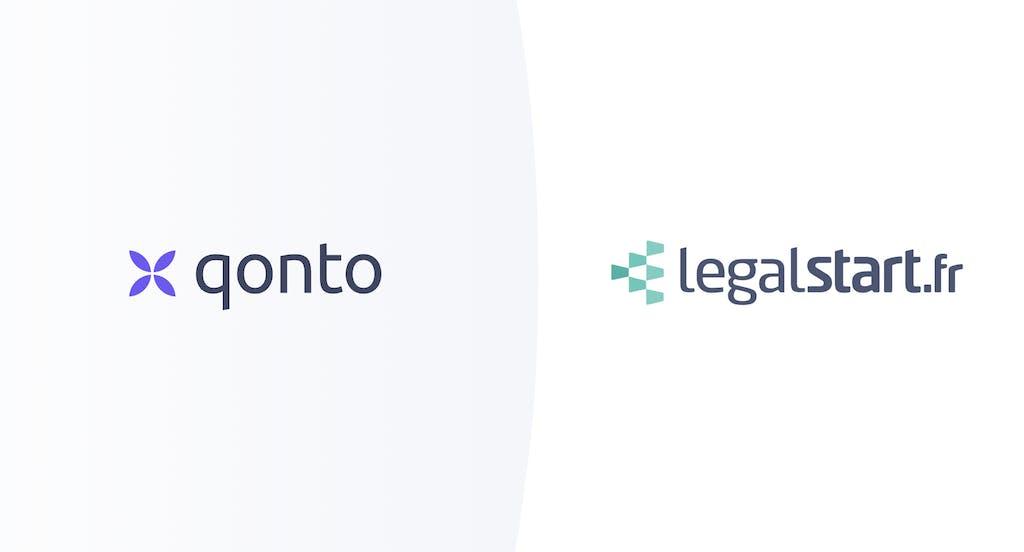 Partenariat Qonto Legalstart