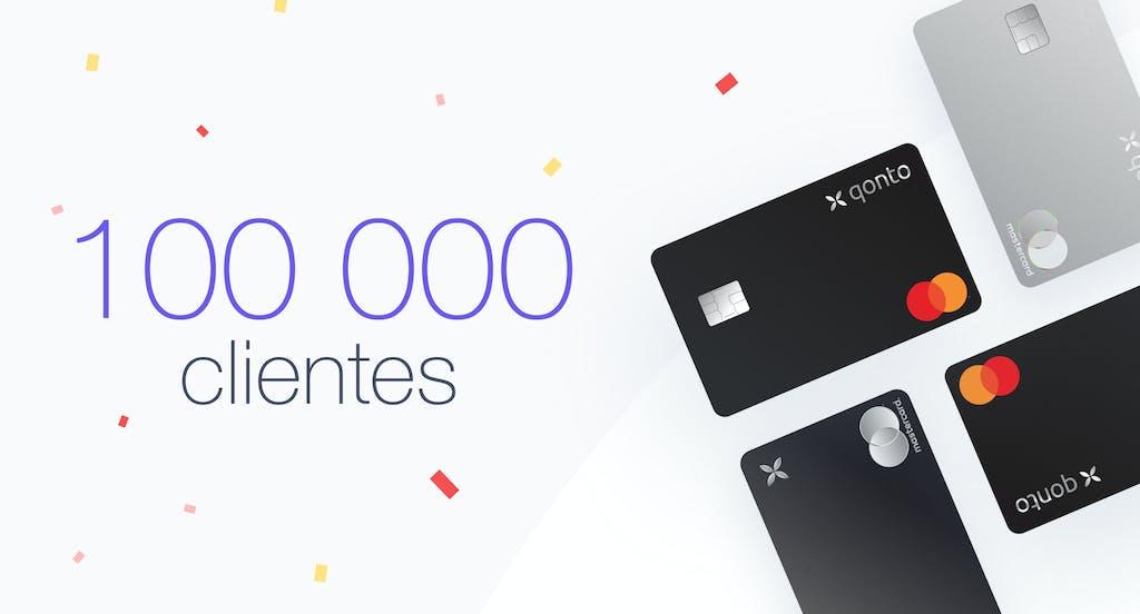 Qonto alcanza la cifra de 100 000 clientes