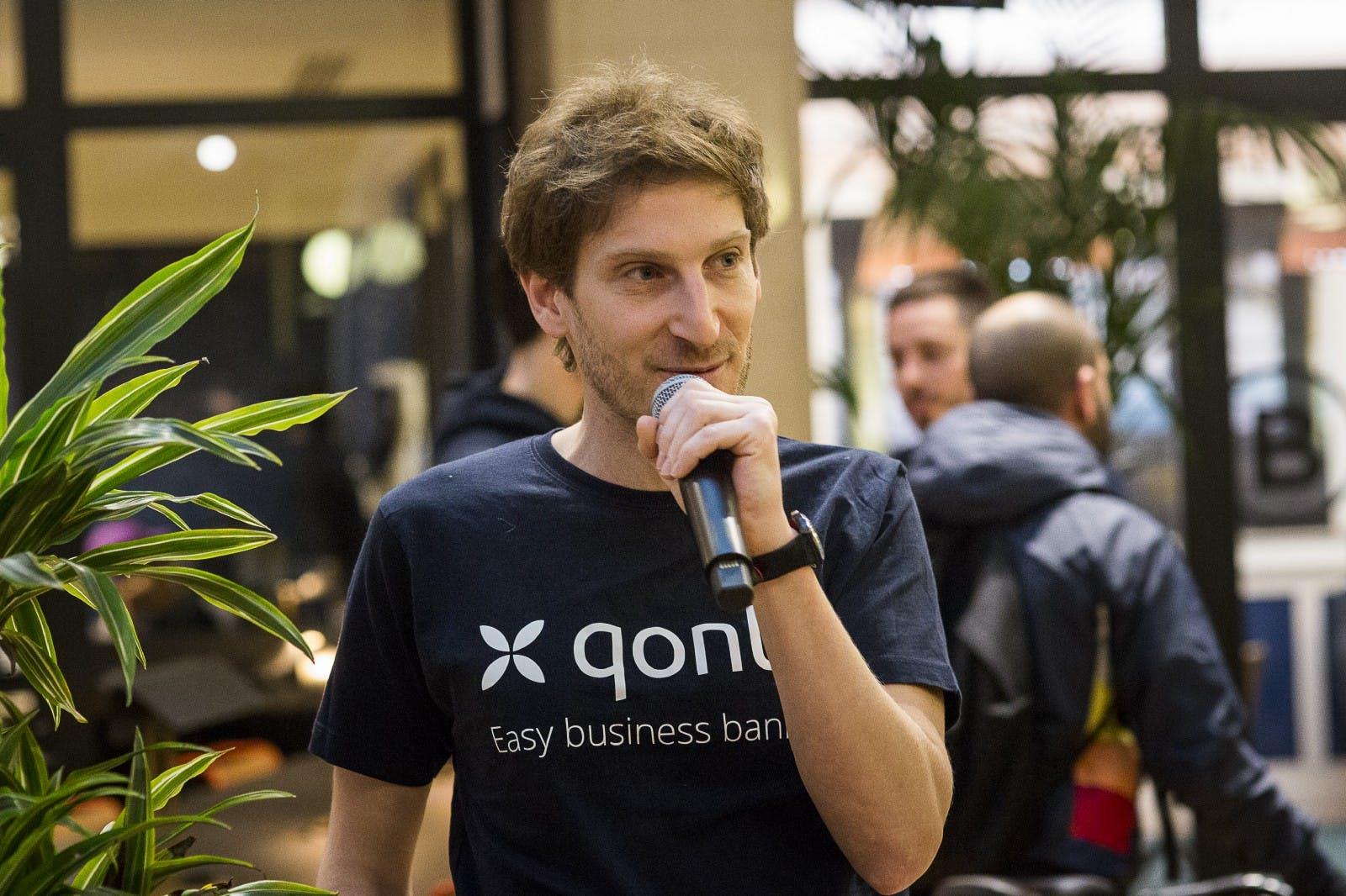 Alexandre Prot, CEO de Qonto