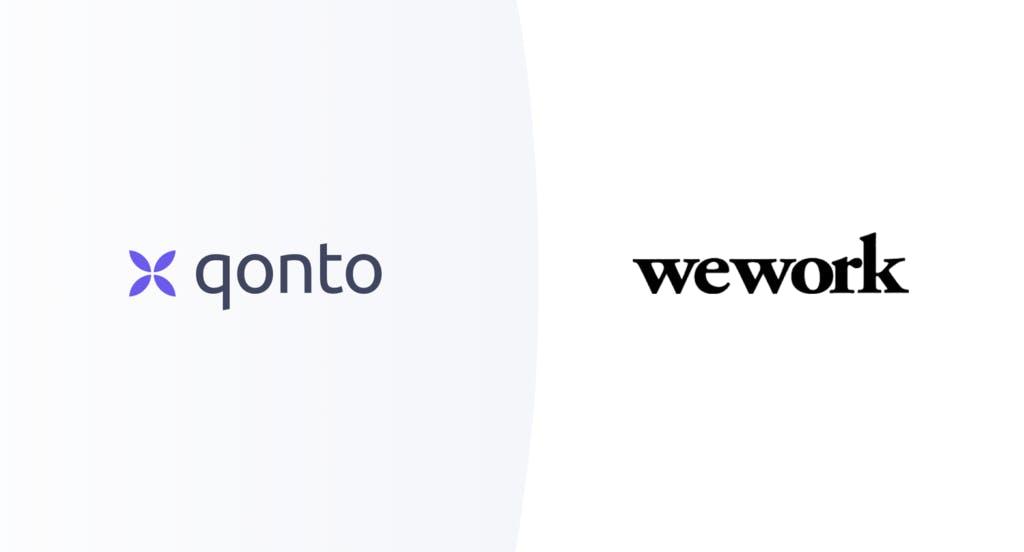 Qonto partenaire WeWork