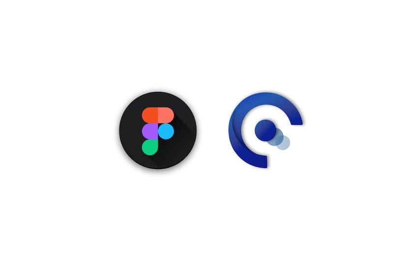 Figma logo and Quintessential logo