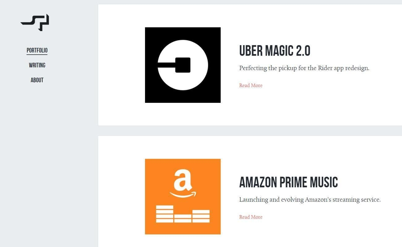 uber logo amazon logo Simon Pan designer portfolio