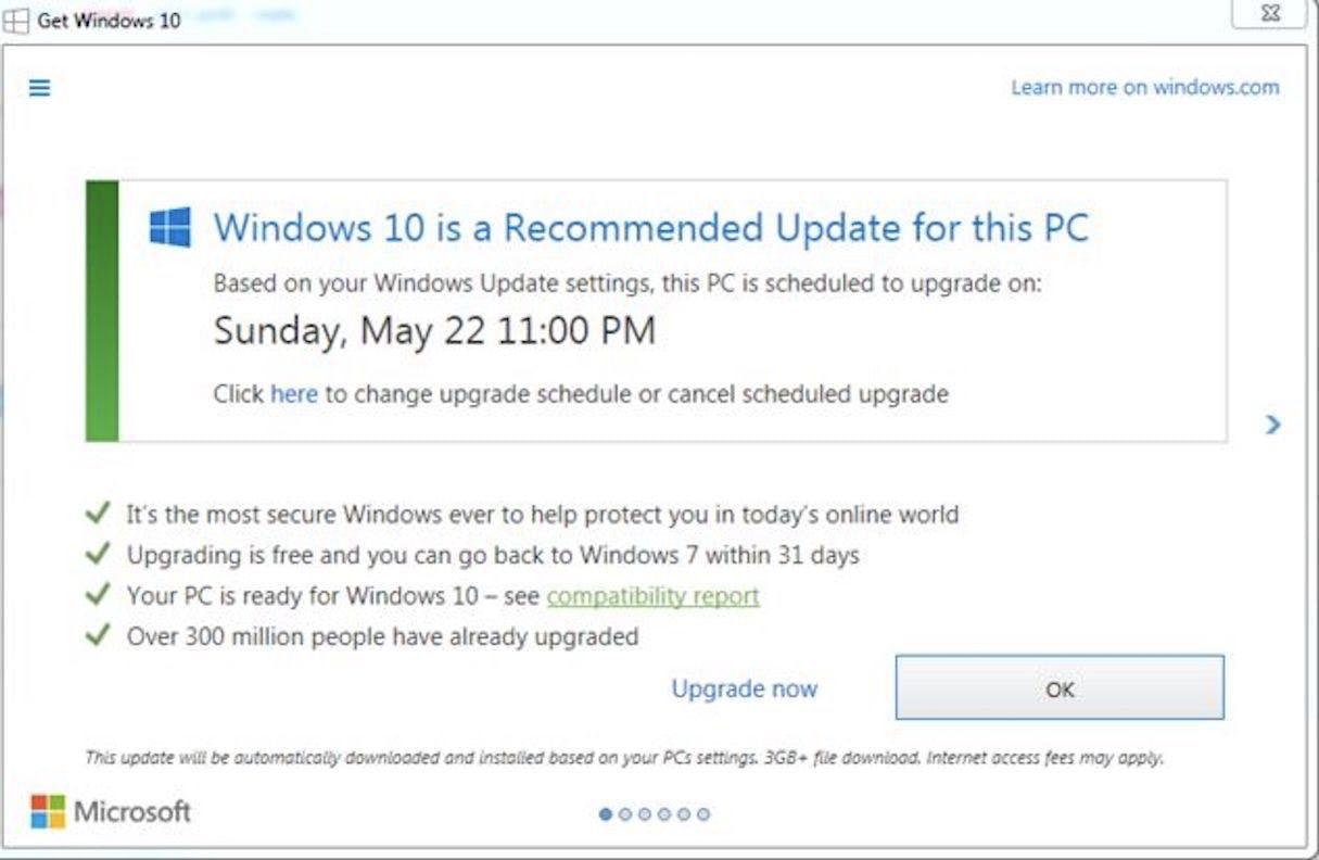 white background, green elements windows logo,  windows update interaface