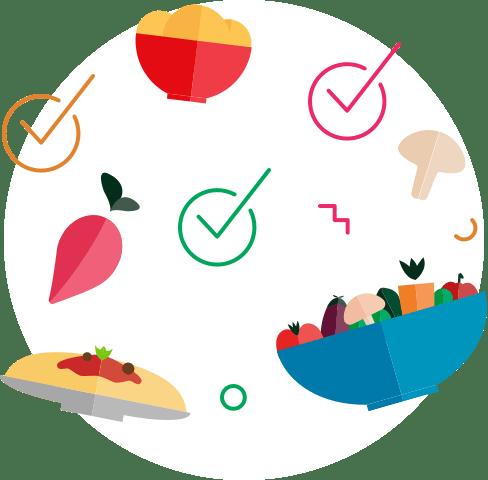 Choisissez vos recettes