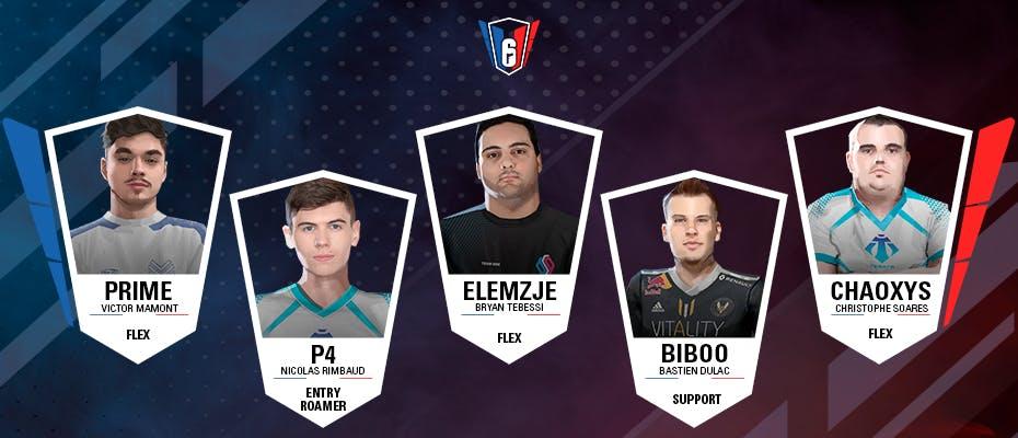 6 French League : l'équipe-type de la semaine 14