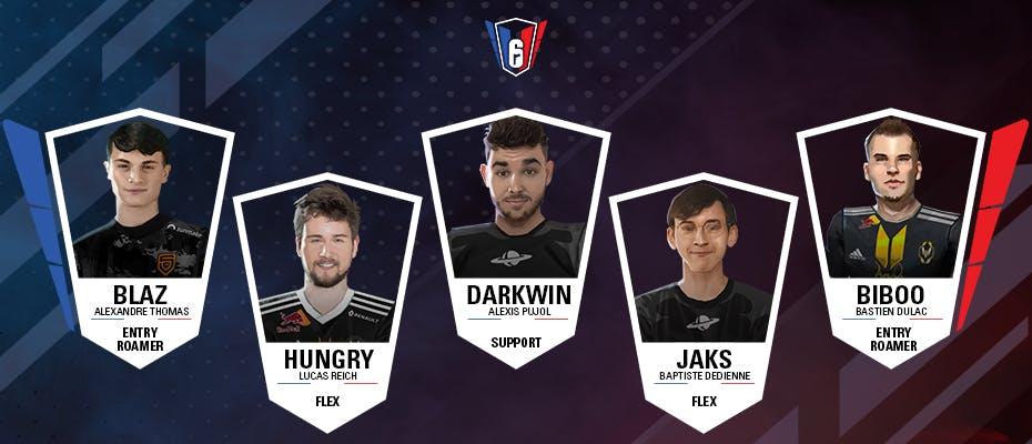 6 French League : l'équipe-type de la semaine 8