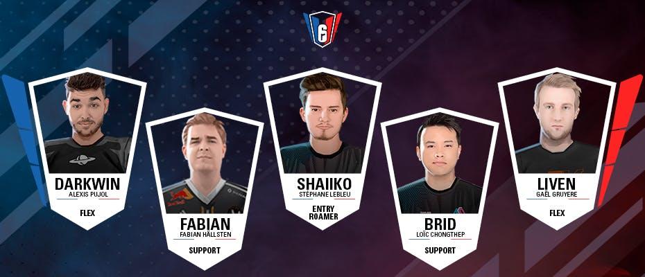 6 French League : l'équipe-type de la semaine 6