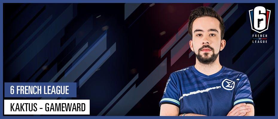 INTERVIEW - KAKTUS (GAMEWARD) : « Un top 3 ce serait vraiment le minimum »