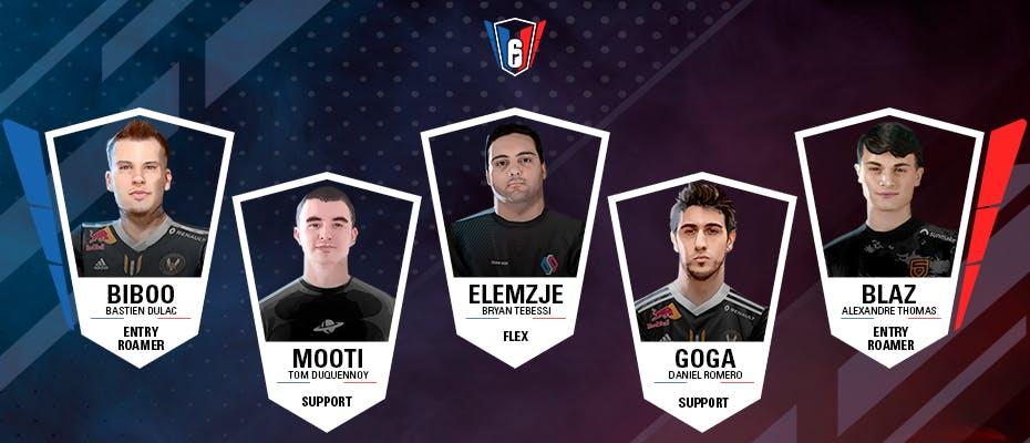 6 French League : l'équipe-type de la semaine 2
