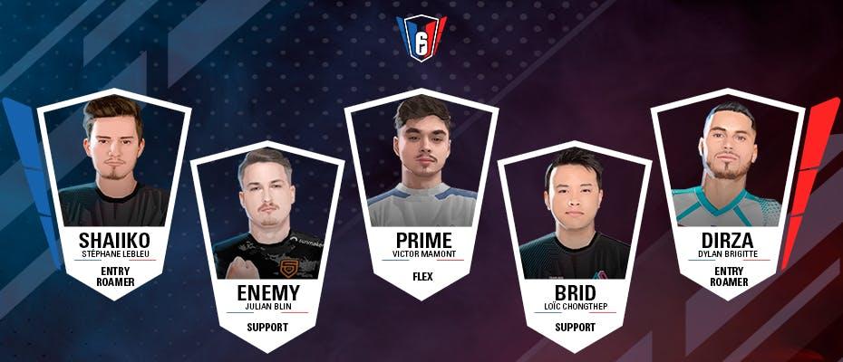 6 French League : l'équipe-type de la semaine 5