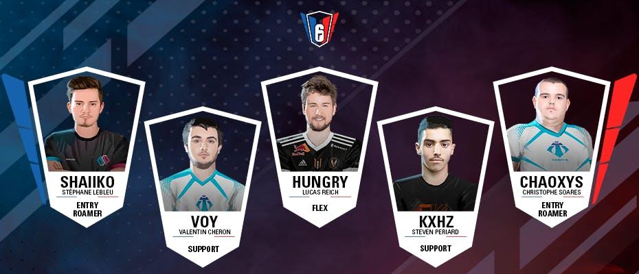 6 French League : l'équipe-type de la semaine 1