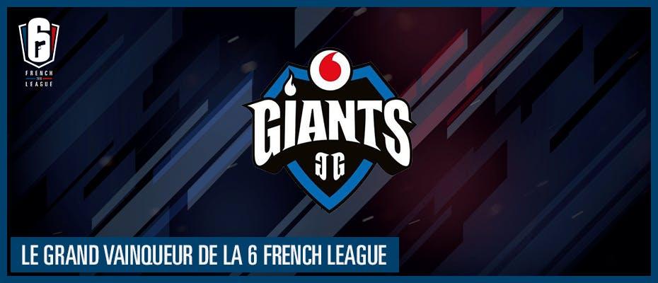 Et le grand vainqueur de la 6 French League est…