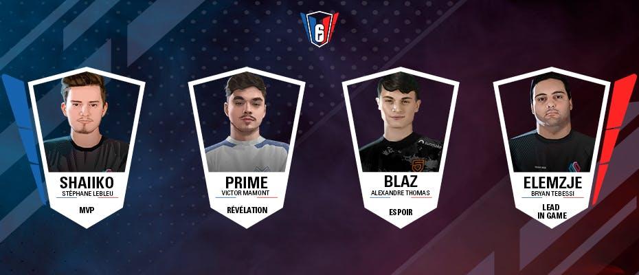 6 French League : Nos distinctions de la Saison 2