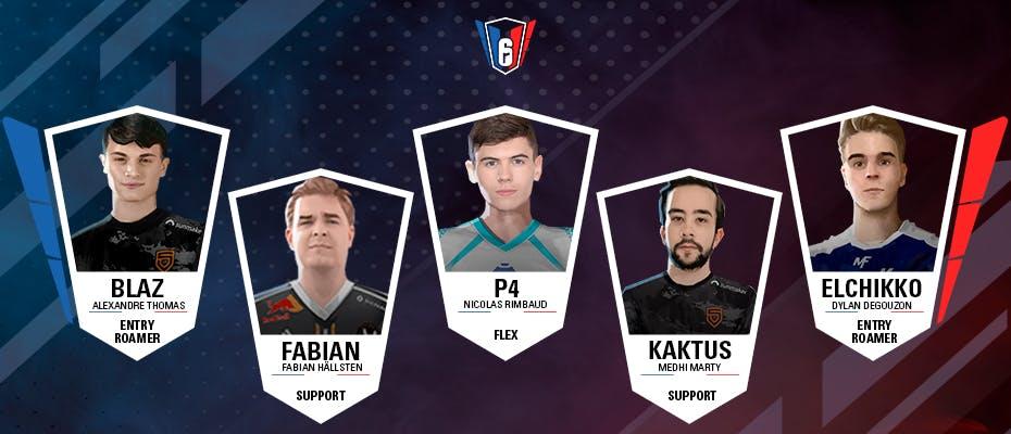 6 French League : l'équipe-type de la semaine 13